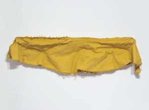 Banana Structure Three, Dyed Canvas, 52 x 14 x 5, 2012