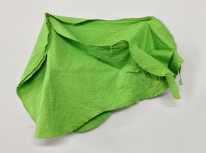 Pear Structure One, Dyed Canvas, 2012