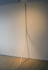 Strap, Wood and Yarn, 2 x 96 x 36, 2009