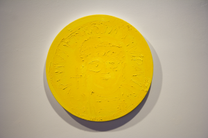 Gold Coin (Justinian), Oil on Canvas, 16 x 16, 2010