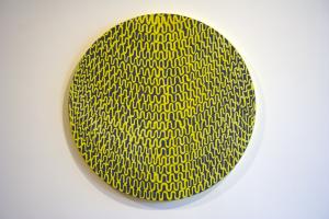 Stacked (Washington), Oil on Canvas, 22 x 22, 2010